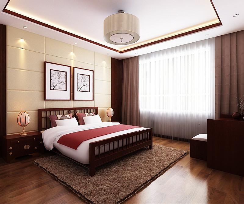 二居 80后 小资 旧房改造 卧室图片来自今朝装饰小闫在领秀慧谷现代中式风格的分享