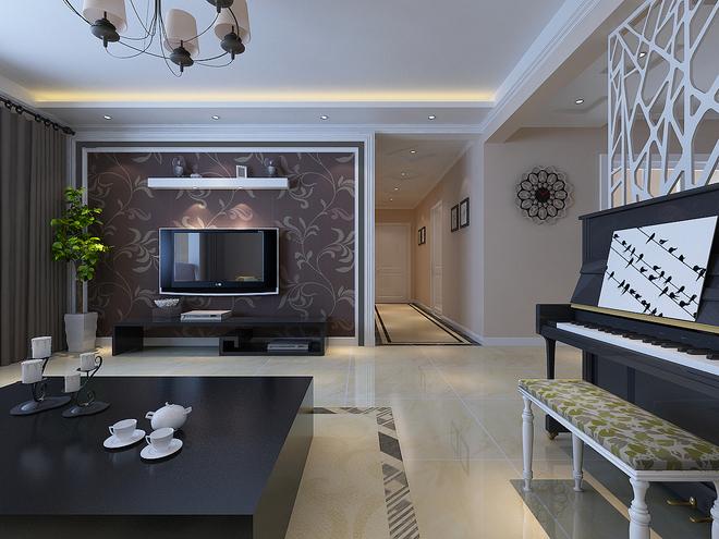 简约 三居 旧房改造 80后 白领 客厅图片来自今朝装饰老房装修通王在三居室现代简约风格的分享