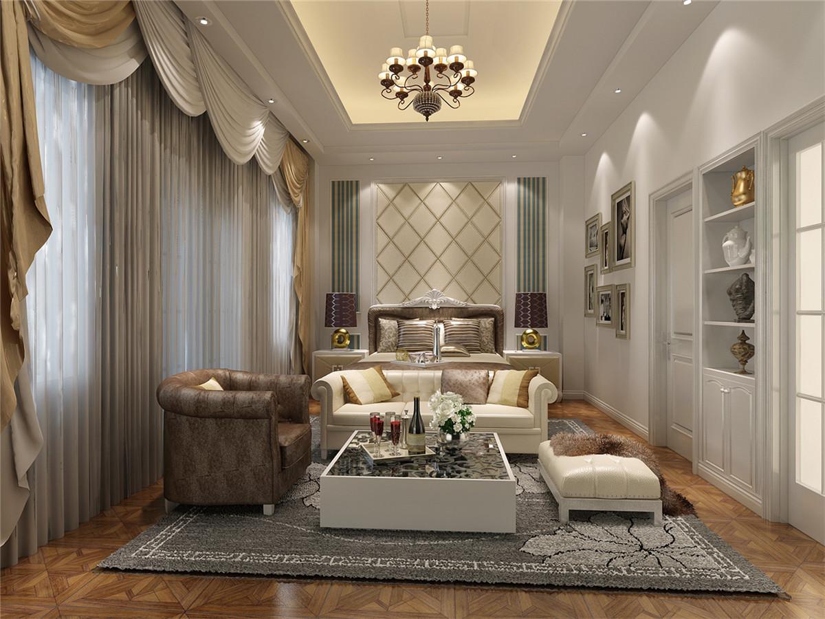龙湖好望山 别墅装修 别墅设计 欧式风格 聚通装潢 卧室图片来自jtong0002在龙湖好望山别墅装修现代简约风格的分享