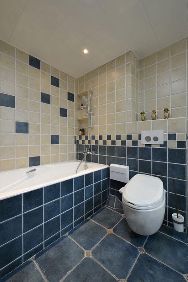 日升装饰 卫生间图片来自装修设计芳芳在136平纯美混搭美式地中海三居室的分享