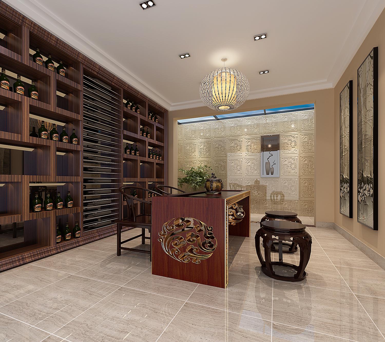 混搭 别墅 新中式图片来自天津馨雅装饰在天津馨雅装饰——融科伍仟岛的分享