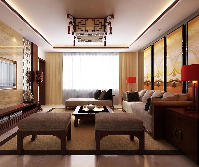 二居 80后 小资 旧房改造 客厅图片来自今朝装饰小闫在领秀慧谷现代中式风格的分享
