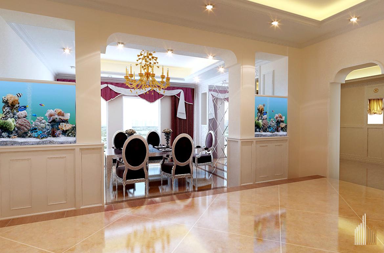 二居 白领 收纳 80后 小资 餐厅图片来自实创装饰完美家装在新国展公寓80平简约时尚案例赏析的分享