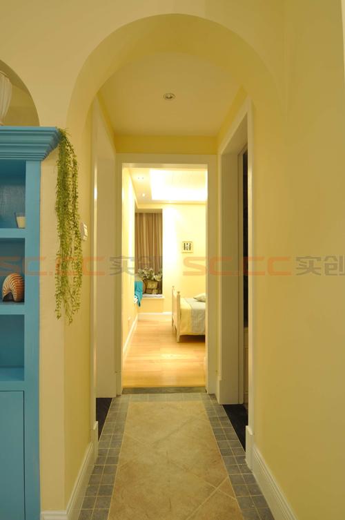 地中海 三居 装修 蓝色风格 其他图片来自南京实创装饰夏雨荷在金域华府130平--地中海之家的分享