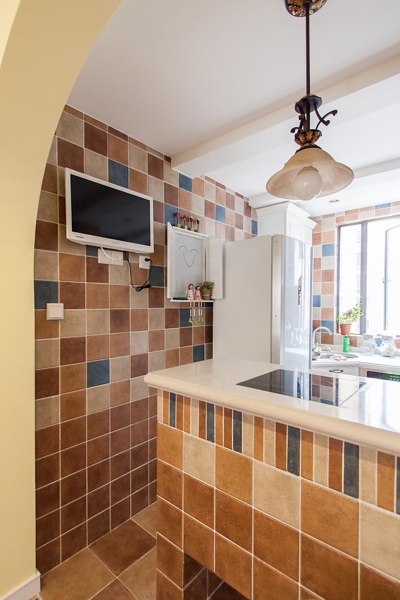 二居 田园 厨房图片来自用户5496457994在小居室的乡村田园的分享