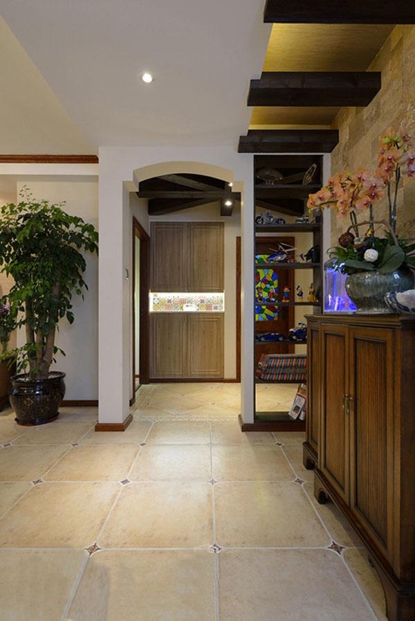 日升装饰 其他图片来自装修设计芳芳在136平纯美混搭美式地中海三居室的分享
