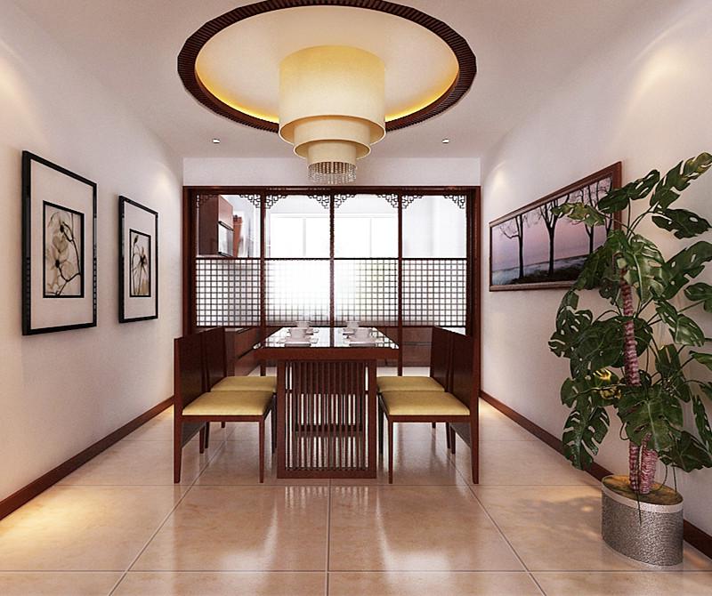 二居 80后 小资 旧房改造 餐厅图片来自今朝装饰小闫在领秀慧谷现代中式风格的分享