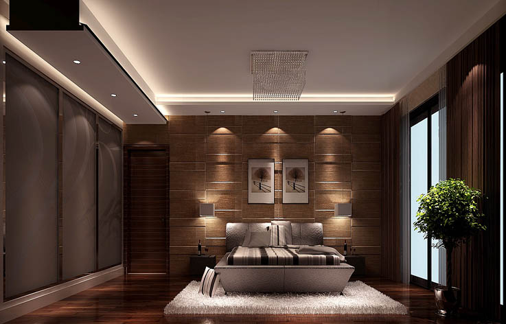简约 欧式 田园 混搭 三居 白领 收纳 80后 旧房改造 卧室图片来自高度国际装饰王伟在御翠尚府 四室两厅 现代风的分享