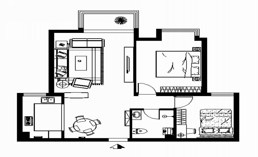 刘杨成 交换空间 其他图片来自交换空间刘杨成室内设计师在101平率真个性的生活的分享