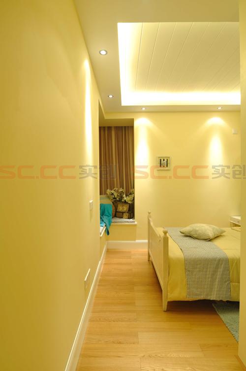 地中海 三居 装修 蓝色风格 卧室图片来自南京实创装饰夏雨荷在金域华府130平--地中海之家的分享