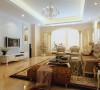 本设计为现代简约风格,整体的浅黄色基调,干净利索,色彩明快,木纹式的背景墙,显示出户主的生活品质。利用吊顶将功能空间加以区分,简单的笔触彰显适用、简洁明快、美观居住个性风格。