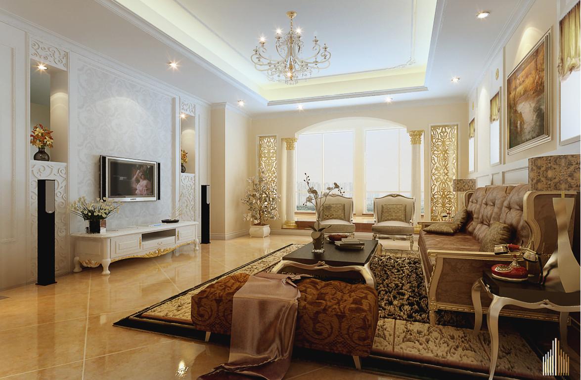 二居 白领 收纳 80后 小资 客厅图片来自实创装饰完美家装在新国展公寓80平简约时尚案例赏析的分享