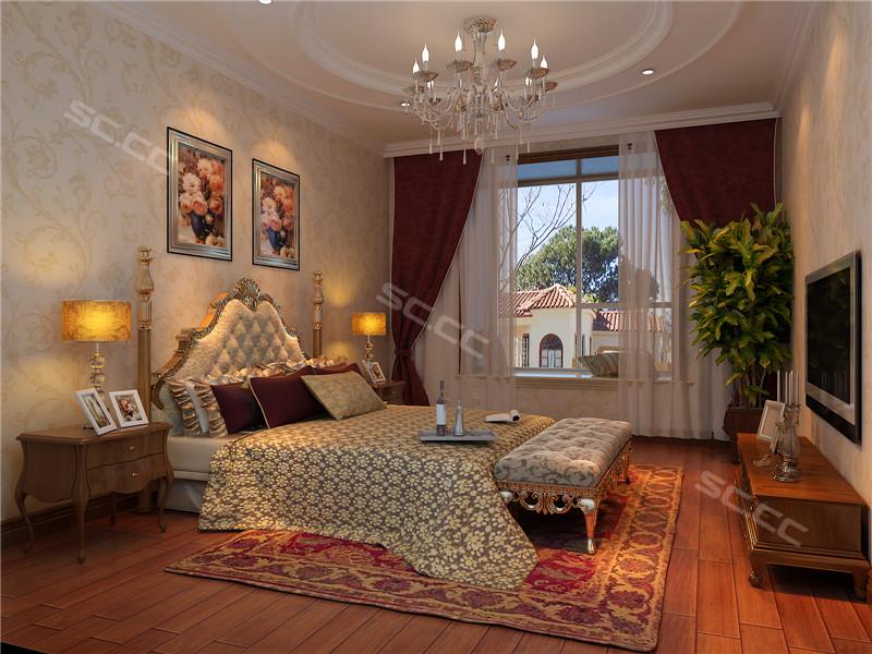 简约 欧式 三居 白领 收纳 80后 小资 卧室图片来自实创装饰百灵在欧式新古典雅居 国风上观的分享