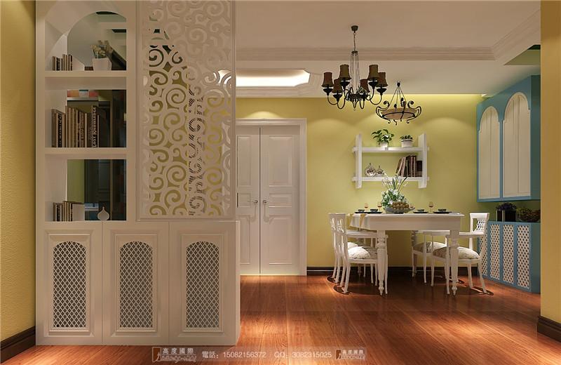 高度国际 餐厅图片来自成都高端别墅装修瑞瑞在130平米田园风-成都高度国际的分享