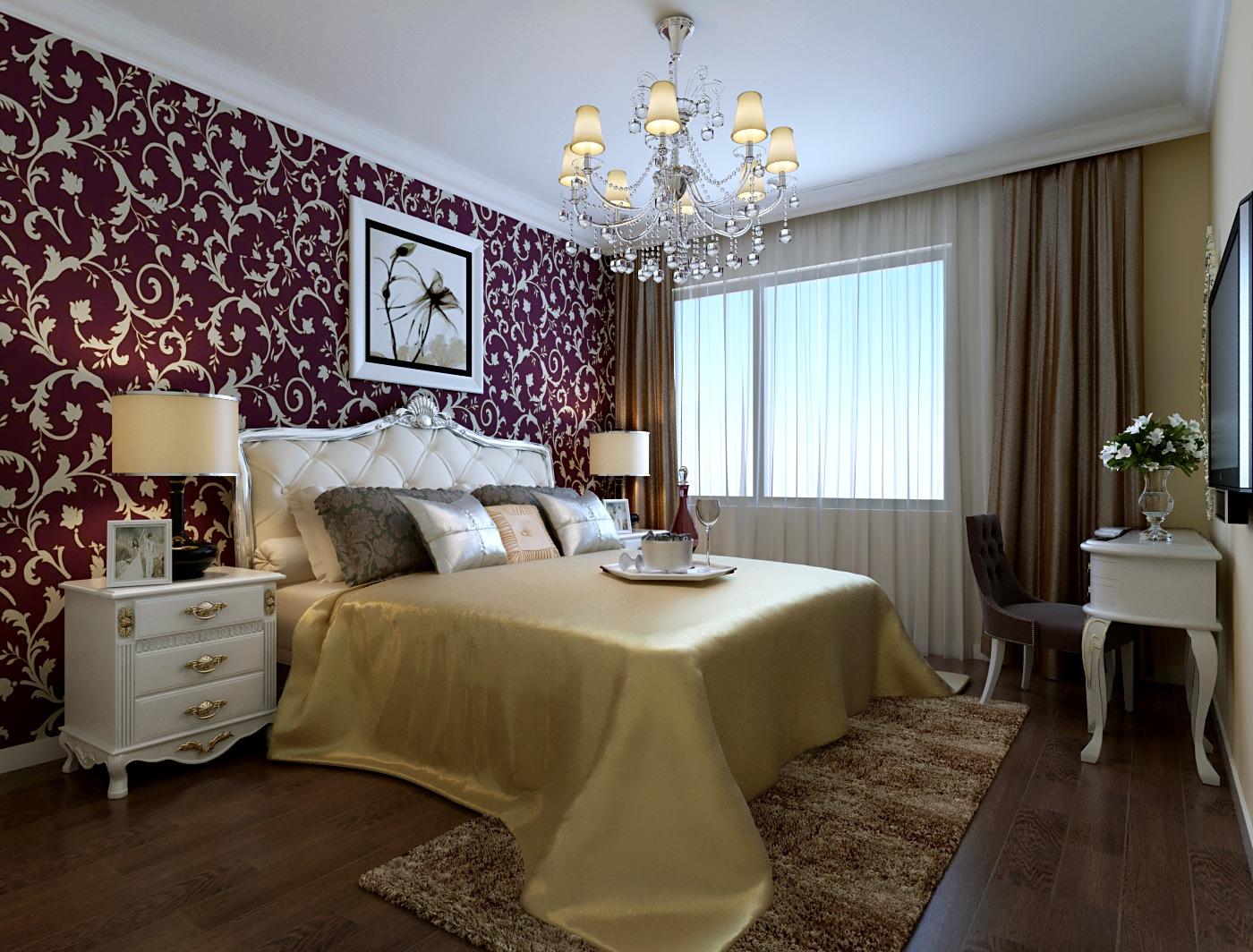 欧式 新古典 三居 白领 收纳 80后 小资 卧室图片来自今朝装饰-陈仙僧在欧式新古典的分享
