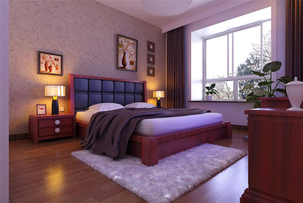 三居 白领 收纳 80后 小资 卧室图片来自实创装饰完美家装在紫金新干线128平简约中式案例的分享