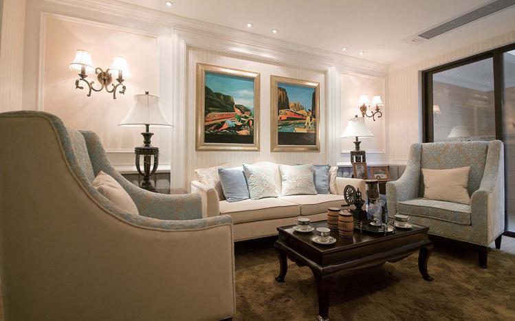 简约 欧式 二居 白领 收纳 客厅图片来自实创装饰百灵在梦幻之旅装修89平米的分享