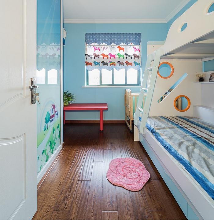 儿童房图片来自佰辰生活装饰在137方最美简约混搭风格的分享