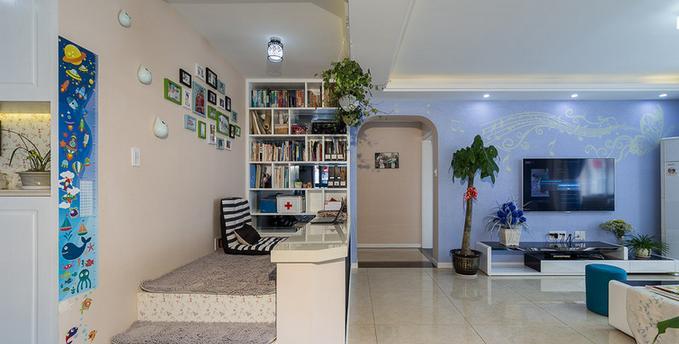 书房图片来自佰辰生活装饰在137方最美简约混搭风格的分享
