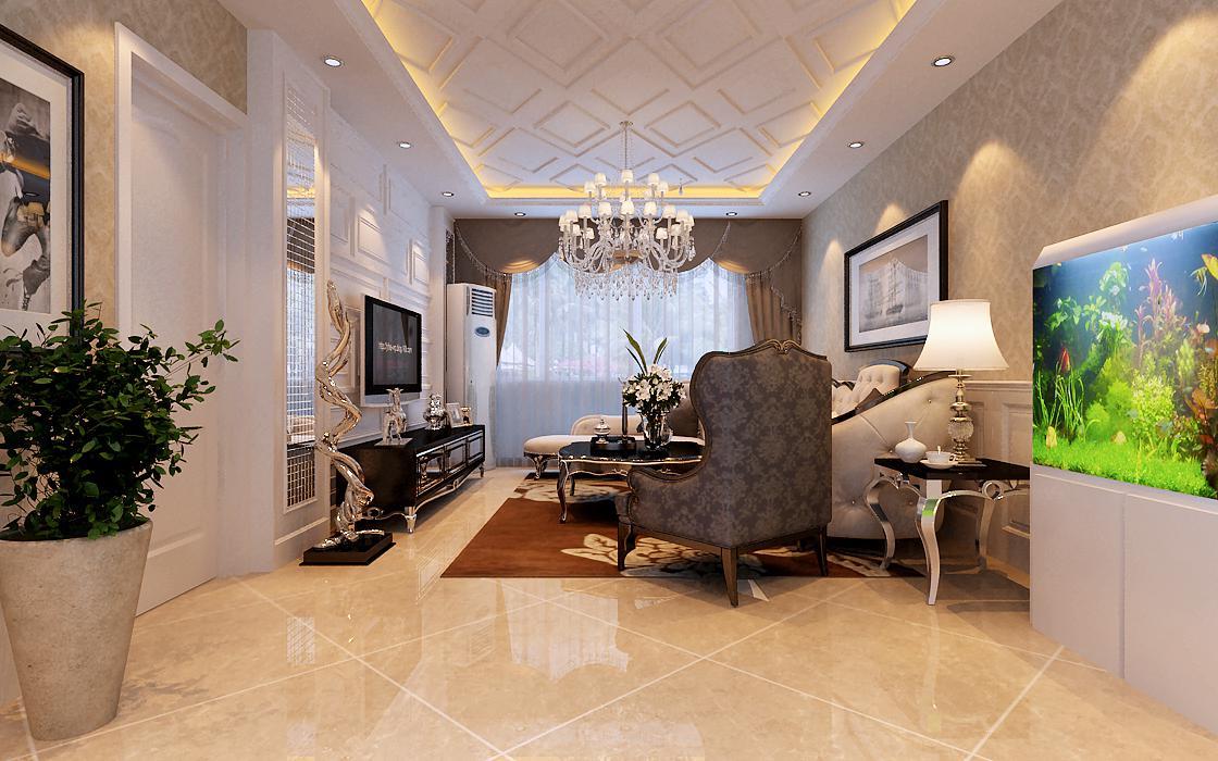 简约 欧式 三居 白领 收纳 80后 小资 客厅图片来自实创装饰百灵在大包装修首城汇景湾132 平米的分享