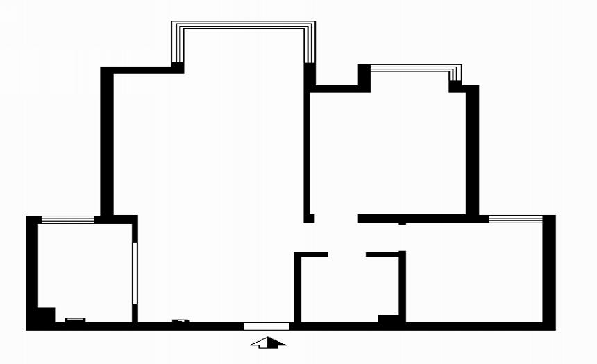 刘杨成 交换空间 户型图图片来自交换空间刘杨成室内设计师在101平率真个性的生活的分享