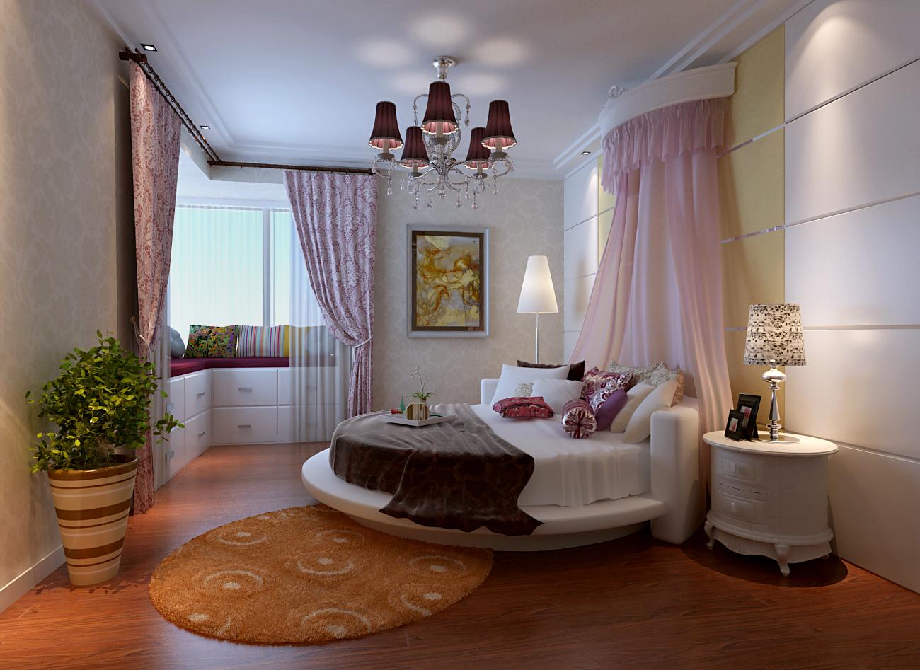 欧式 简约 三居 白领 80后 小资 卧室图片来自今朝装饰-陈仙僧在欧式时尚的分享