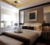 要保证私密性。私密性是卧室最重要的属性,它不仅仅是供人休息的场所,还是夫妻情爱交流的地方,是家中最温馨与浪漫的空间。卧室要安静,隔音要好,可采用吸音性好的装饰材料;门上最好采用不透明的材料完全封闭。