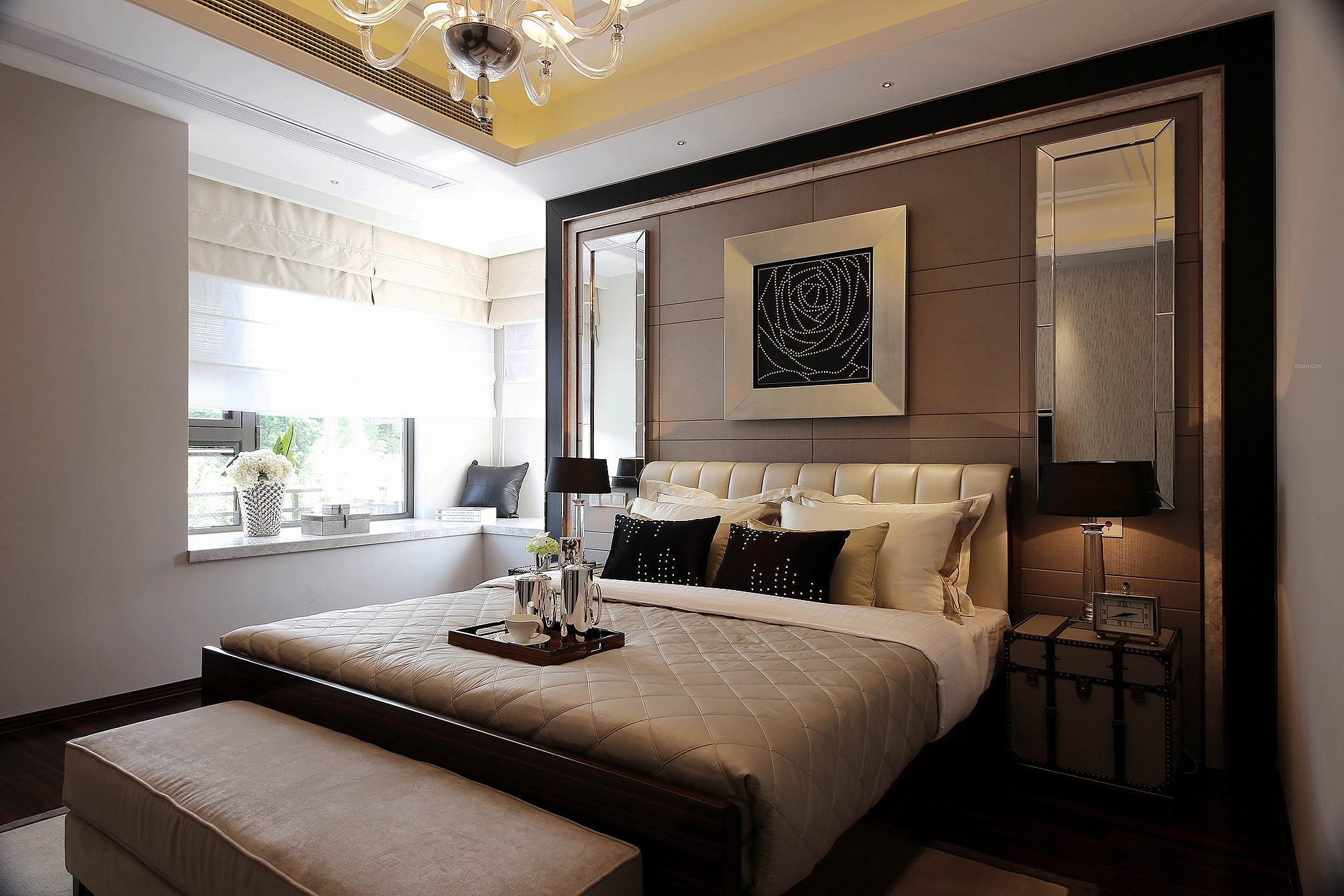 前海广场 户型图 原始结构图 好易家 装饰 装修 现代简约 卧室图片来自好易家装饰集团在前海广场的分享