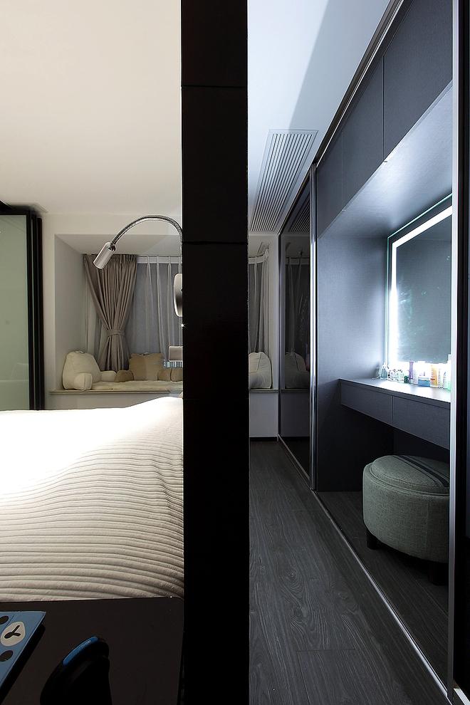 二居 美式 婚房 旧房改造 卧室图片来自实创装饰晶晶在普陀帅哥打造84平美式完美婚房的分享