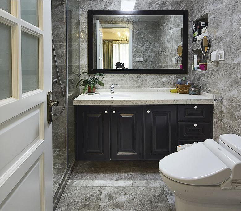 卫生间图片来自佰辰生活装饰在160平打造典雅美式梦想的分享