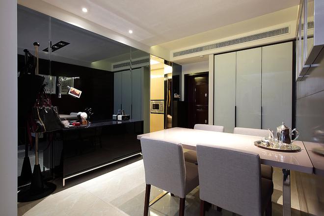 二居 美式 婚房 旧房改造 餐厅图片来自实创装饰晶晶在普陀帅哥打造84平美式完美婚房的分享