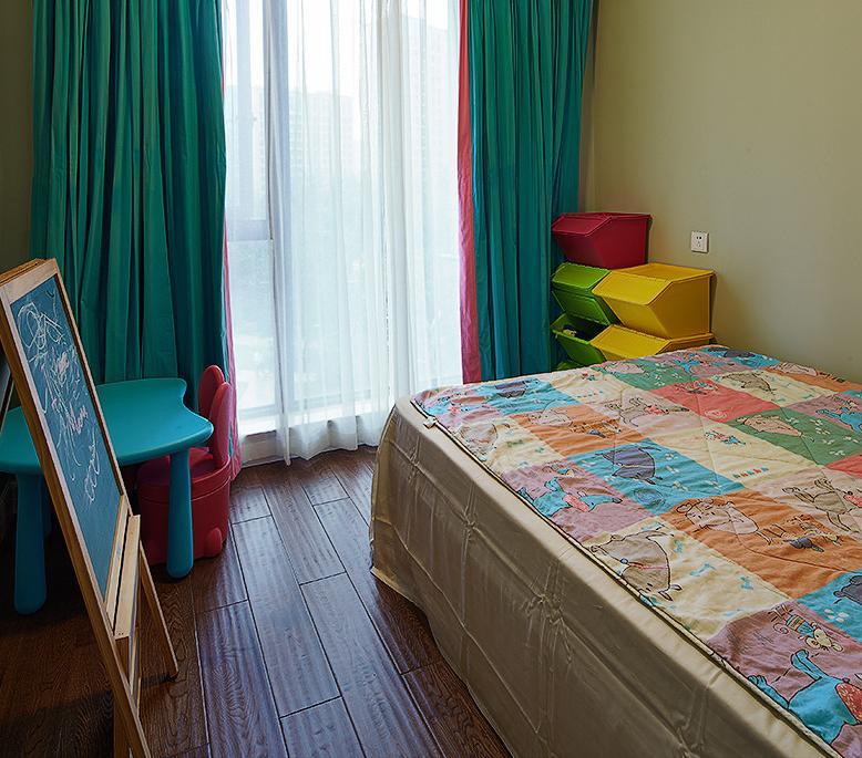 卧室图片来自佰辰生活装饰在160平打造典雅美式梦想的分享