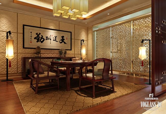 别墅装修 别墅设计 装修设计 软装配饰 尚层装饰 餐厅图片来自北京别墅装饰在欧式新古典万城华府800平的分享