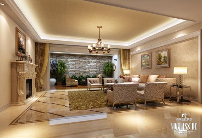 别墅装修 别墅设计 装修设计 软装配饰 尚层装饰 客厅图片来自北京别墅装饰在欧式新古典万城华府800平的分享