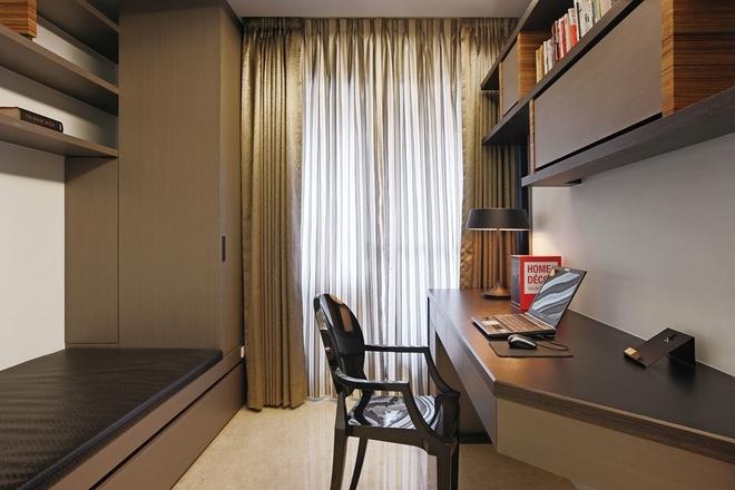 简约 四居 书房图片来自实创装饰上海公司在现代简约风格-三世同堂居家之乐的分享