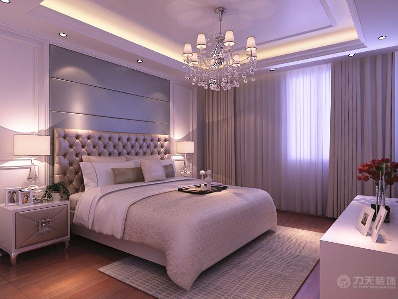 简约 欧式 二居 白领 收纳 80后 小资 卧室图片来自阳光力天装饰在力天装饰-瞰海品筑91㎡的分享