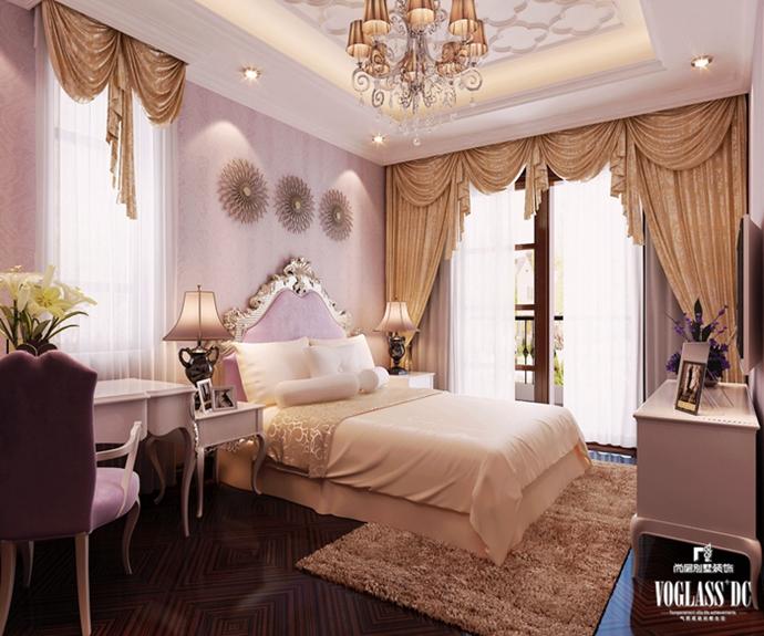 别墅装修 别墅设计 装修设计 软装配饰 尚层装饰 卧室图片来自北京别墅装饰在欧式新古典310平龙熙顺景的分享