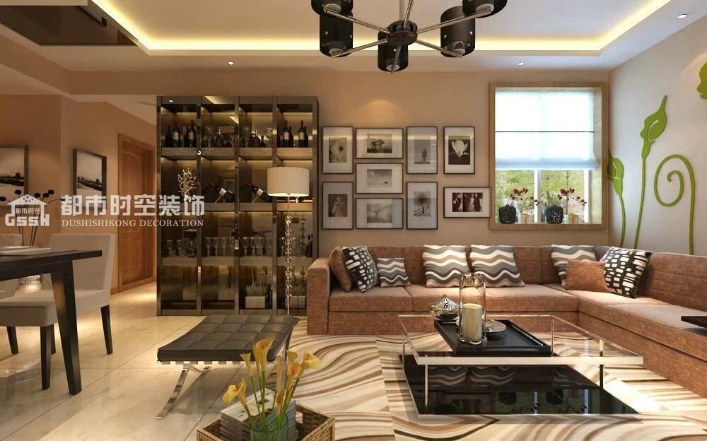 简约 二居 客厅图片来自山西都市时空装饰小吴在毛织厂宿舍90现代简约的分享
