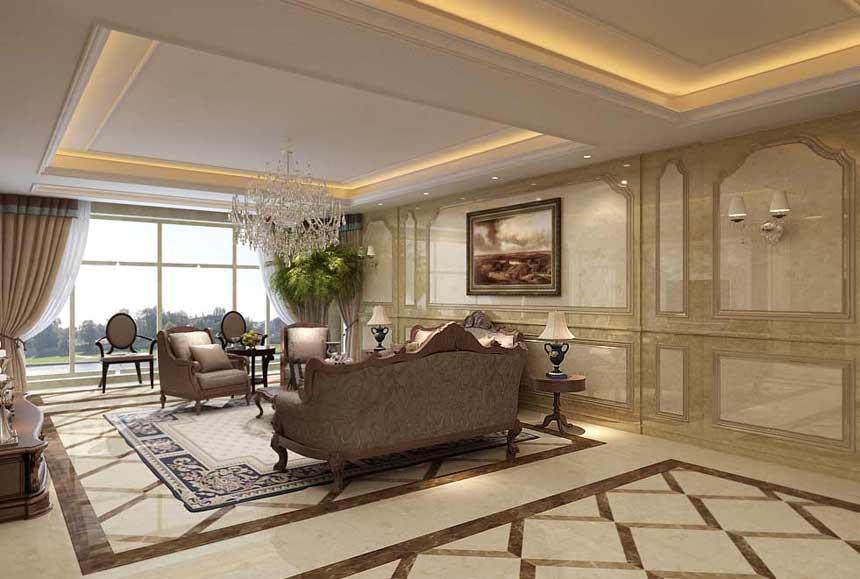 欧式 四局 古典 客厅图片来自半岛e家在欧式古典风格的分享