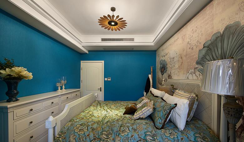 卧室图片来自家装大管家在如梦似幻 89平美式混搭时尚居的分享