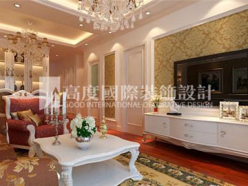 长阳国际城90平新古典风格