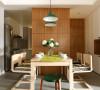 88平北欧风格层次分明三居室装修