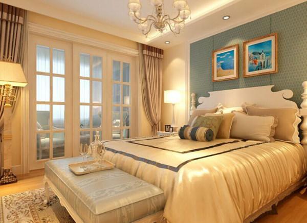 设计理念:旋律是一个熟悉的音乐概念,它贯穿整个音乐的节拍。同样卧室蓝与白的旋律同客厅一样,使我们的风格更加统一。