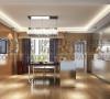 南湖国际三居现代风格