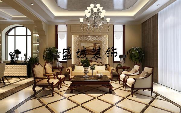 本案突出美式和乡村风格,希望透过设计师的设计来凸显美式风格稳重与奢华,体现出文化元素在家装设计中的实用与精致。