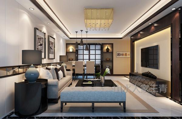 整体设计以大地色调作为空间的主基调,让视觉感扩宽,以烘托活动空间的流畅。