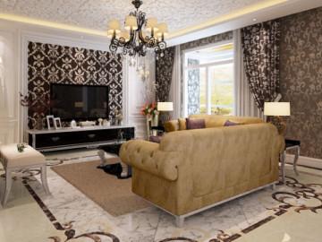 金色漫香林270平米新古典风格