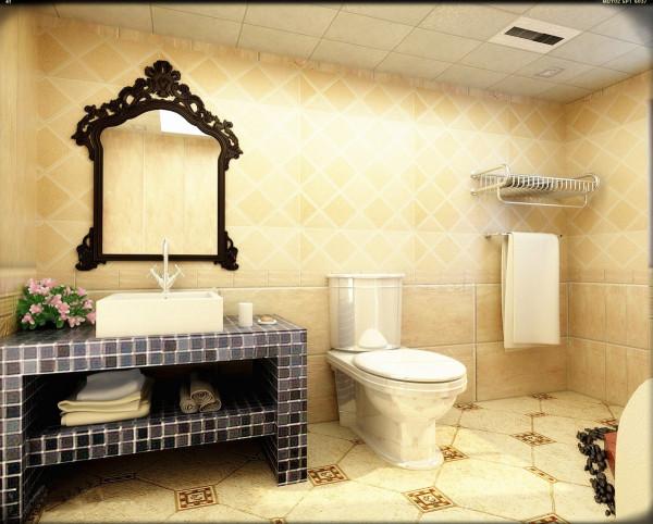 卫生间的装修中大多数都是使用的白色瓷砖,我们在用白色瓷砖装修的时候可以用墙砖腰线、装饰性的花砖来装饰墙面。因为白色属于消色系色彩,所以在装饰墙面的时候我们可以使用任何颜色的瓷砖来对墙面进行点缀。