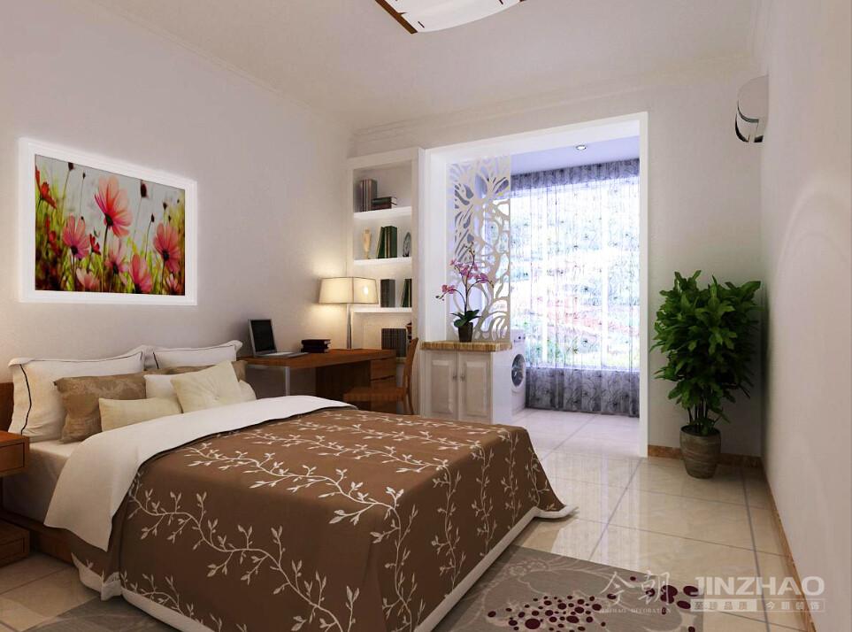 卧室图片来自石家庄今朝装饰在案例欣赏--150平军医宿舍效果图的分享