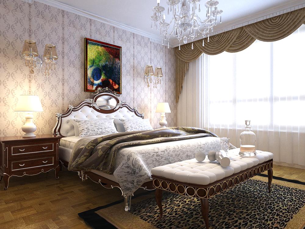 后现代 效果图 林凤装饰 装修公司 卧室图片来自沈阳林凤装饰装修公司在中海寰宇天下·天颂后现代118㎡的分享
